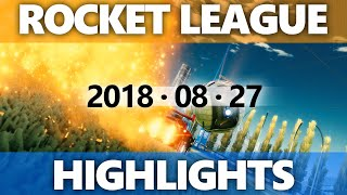 Rocket League Highlights 2018 08 27