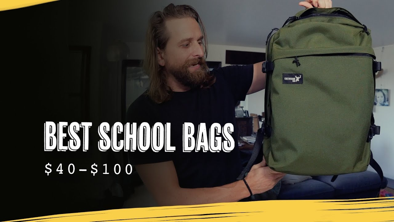 e0e5180edb3d THE BEST SCHOOL BACKPACKS UNDER  100 - YouTube