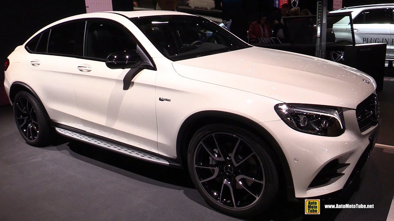 2017 Mercedes AMG GLC 43 Coupe Exterior And Interior