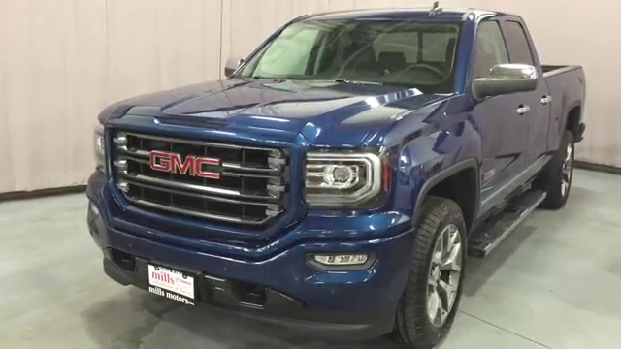 2016 gmc sierra 1500 slt double cab 4wd all terrain package oshawa on stock 160203 youtube. Black Bedroom Furniture Sets. Home Design Ideas