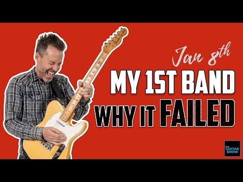 My First Band & Why It Failed - (Live Lesson + Q&A)