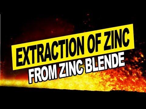 Extractive metallurgy presentation (zinc).