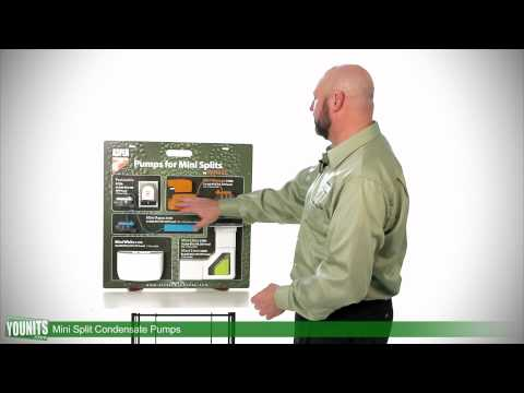 Video Guide to Types of Condensate Pumps for Ductless Mini-Split Systems - Younits.com [HD]