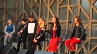 SEREBRO - KISS  (LIVE 27.04.16, MOSCOW)