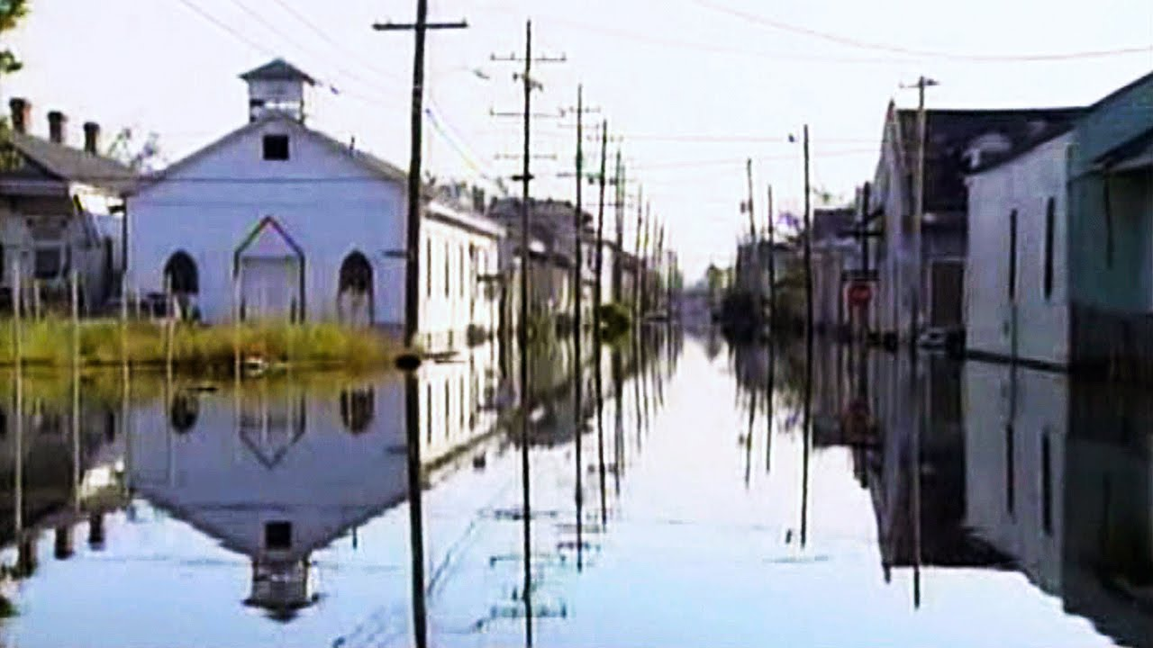 hurricane katrina new orleans storm surge youtube. Black Bedroom Furniture Sets. Home Design Ideas