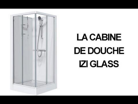 511d1f543291a9 La cabine de douche Izi Glass - LEDA - YouTube