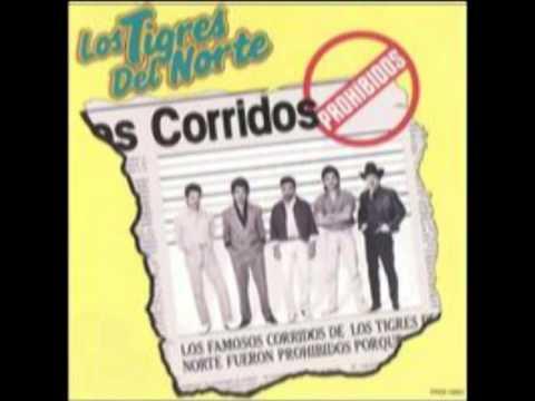 Valentin Felix  Los Tigres del Norte Album Corridos Prohibidos (Año 1989)