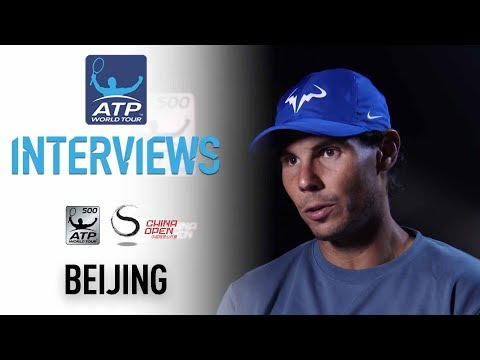 Nadal Reacts To Reaching Beijing 2017 Final