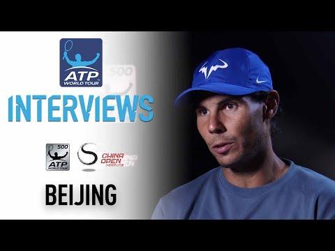 Nadal Reacts To Reaching Beijing 2017 Final