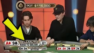 Phil Hellmuth BULLIES An Amateur With SPEECH PLAY