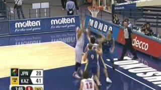 第24回FIBAアジア (対カタール・カザフスタン戦)