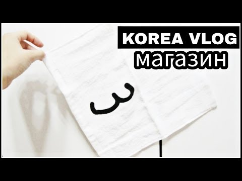 KOREA/ VLOG/ Магазин для домохозяек;)