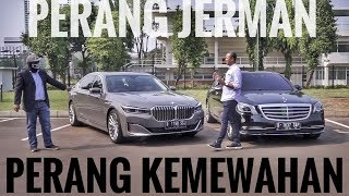 PERANG JERMAN   7 Series vs S-Class