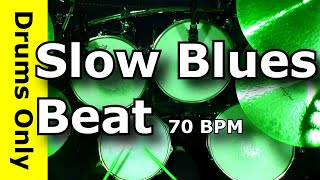 12/8 Slow Blues Drum Beat 70 BPM  - JimDooley.net
