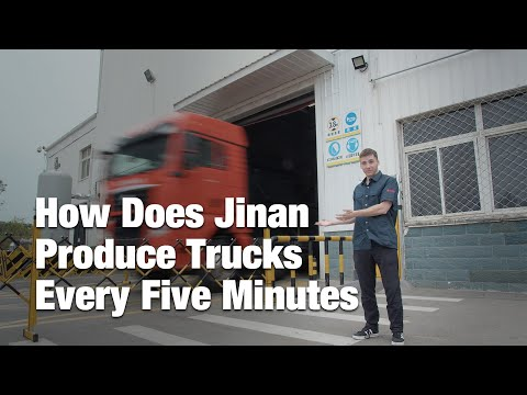 China Matters takes You on a tour of the Sinotruk manufacturing...