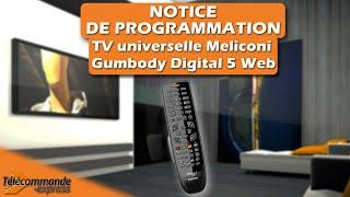 प्रोग्रामर यून टेलिकॉमैंड टीवी यूनिवर्सेल मेलिकोनी गंबॉडी डिजिटल 5 वेब screenshot 1