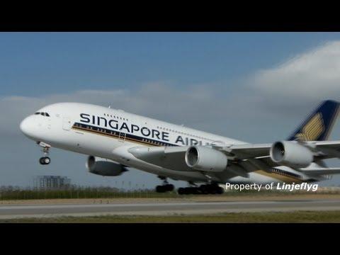 Six operators of A380-800 and B747-8 @LAX