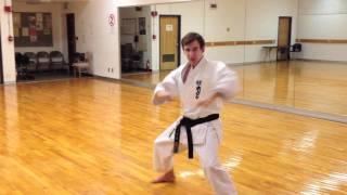 Shotokan Karate Kanku Sho demonstration on PaulGaleNetwork.com
