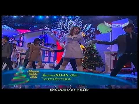 XO-IX  Feat. Cherrybelle - Jingle Bell Rock @ Konser Natal Mujizat Selalu Ada RCTI 24-12-2011.mp4