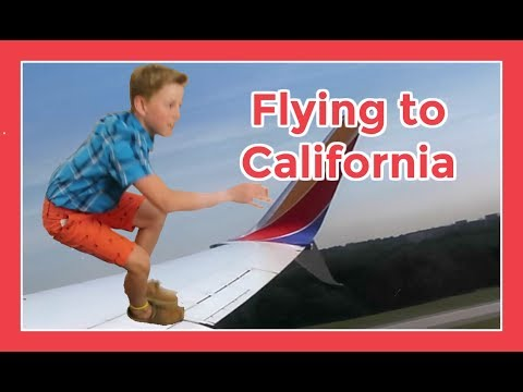 FLYING TO CALIFORNIA | Flippin' Katie