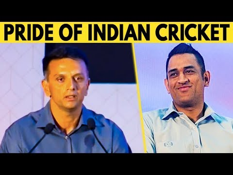 He is the Pride of Indian Cricket Team : Rahul Dravid Latest Speech at Chennai   chennai Super kings