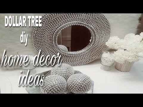 DIY ROOM DECOR | DOLLAR TREE DIY HOME DECOR IDEAS 2018 | WALL MIRROR