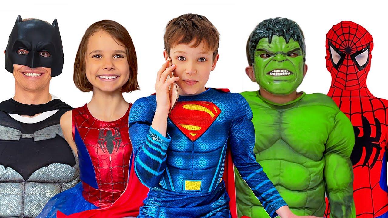 Макс устроил вечеринку для Супер Героев