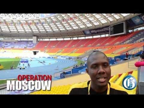 A peek at Moscow's Luzhniki Stadium