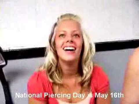 National Piercing Day is May 16th! (Lip Piercing)