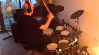 Barry White - Can't Get Enough Of Your Love, Babe (Roland TD-12 Drum Cover)