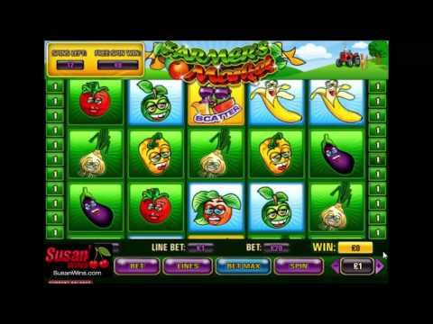 Sensational £960 Win - Free Games Bonus - Farmers Market Online Slots Review