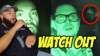 Top 10 Scariest Paranormal Moments Caught on Camera | Mindseed TV Edition -  LIVE REACTION