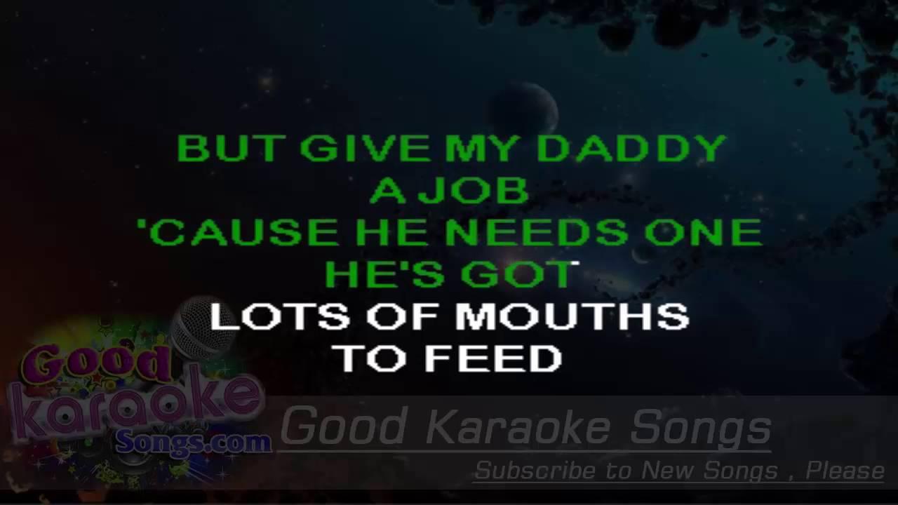 Father Christmas - The Kinks ( Karaoke Lyrics ) - YouTube