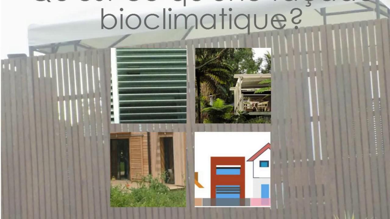 Questce Que La Façade Bioclimatique YouTube - Qu est ce qu une maison bioclimatique