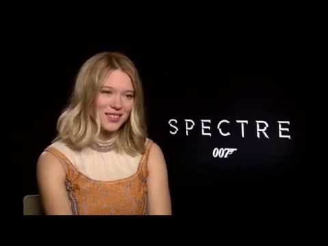 Spectre Set Interview - Christoph Waltz, Lea Seydoux and Dave Bautista