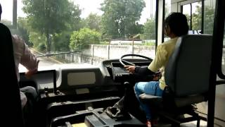 First Lady driver Training in Automated Driver's Training Testing and Skill Institute, Ajmer