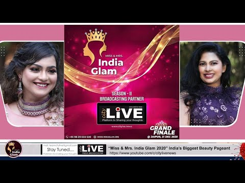 """City LIVE - """"Miss & Mrs. India Glam 2020"""" Session 2nd  India's Biggest Beauty Pageant"""