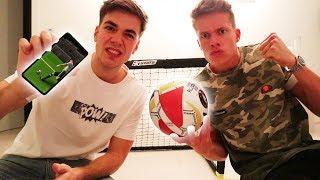DOPPEL-Fußball Challenge (Luca vs. Max)