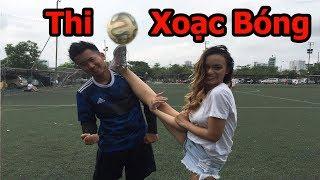 Thử Thách Bóng Đá thi xoạc bóng với Fan Nữ của U23 Việt Nam - FOOTBALL CHALLENGE