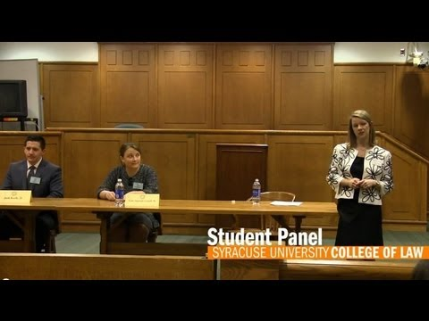 Student Panel - Visitor Program 2013