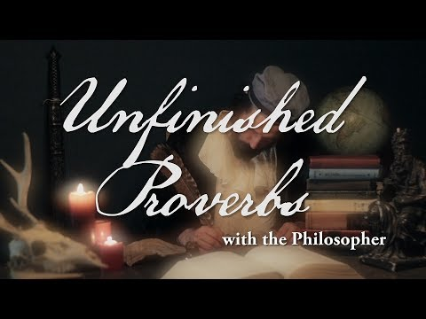 Unfinished Proverbs: If You Want Something Done Right...