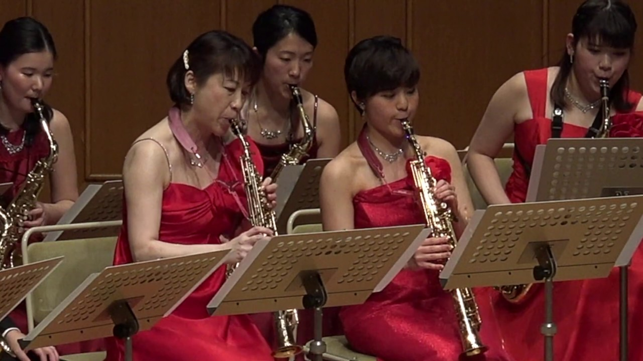 Gershwin / An American in Paris / Mi-Bémol Saxophone Ensemble