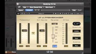 How to Optimize Maximum Level in Waves L2 Limiter