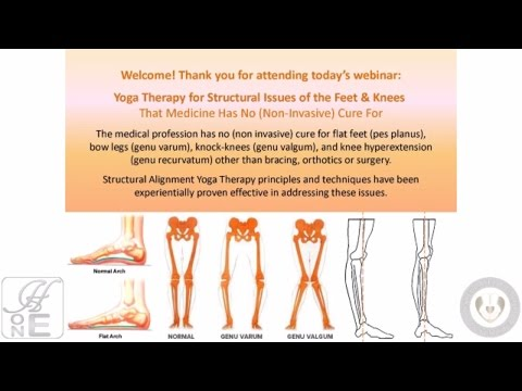 FREE Webinar Yoga Therapy for Structural Issues of the Feet & Knees