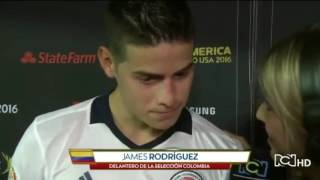 James Rodriguez'e Kadın Spikerden Taciz