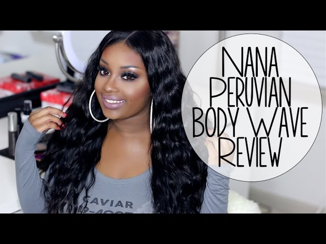 Nana Virgin Peruvian Body Wave Hair Extensions | Makeupd0ll