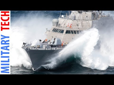 US Navy LETHAL Littoral Combat Ship LCS in ACTION