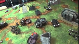 Warhammer 40k Battle Report 2000 pts Orks Vs Black Templar