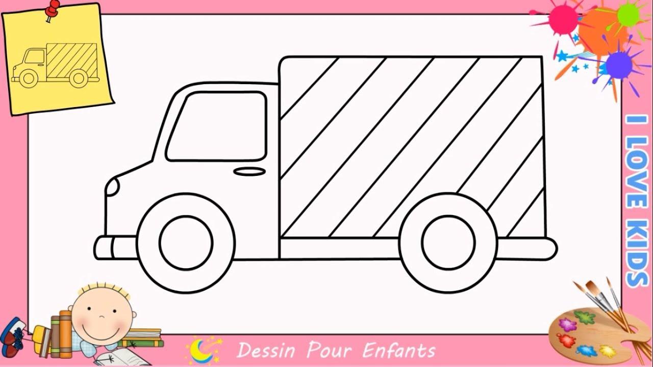 Dessin Camion Facile Etape Par Etape Comment Dessiner Un Camion