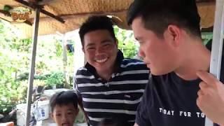 """Khương Dừa vận động """"đồng bọn"""" ăn hết xe hàng ủng hộ chị gái An Giang!!!"""